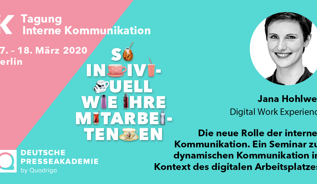 Tagung Interne Kommunikation am 17./18. März 2020